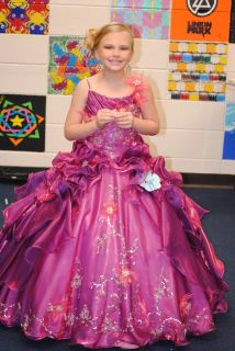 Pageant kids NEW! Size 6-8 girls formal/pageant gown
