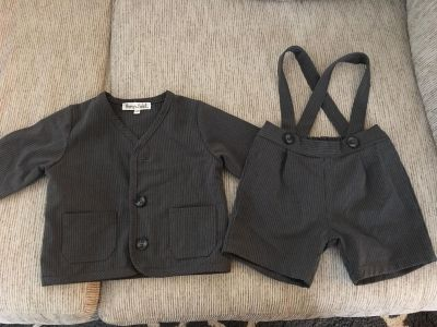 Formal baby suit