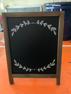 NEW Chalkboard Stand