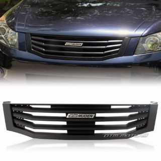 Buy Mug Style ABS Black Front Hood Grille w/ Emblem For 2008-2010 Honda Accord Sedan motorcycle in Rowland Heights, California, United States