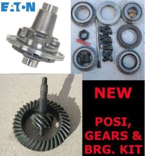 "Ford 8"" TrueTrac Posi - Gear - Bearing Kit Package"