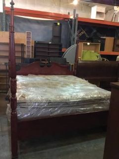 King / California King Sized Four Post Bed - Delivery And Financing*