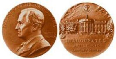 $45, COIN collectible President Harry S. Truman Inaugural Medal