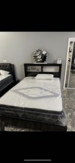 Elegant Queen Size Bed Frame