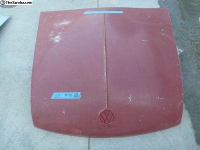 Front hood 4 hole trim