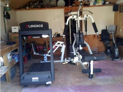 FITNESS EQUIPMENT STATIONARY BIKE BY VISION FITNESS, ...