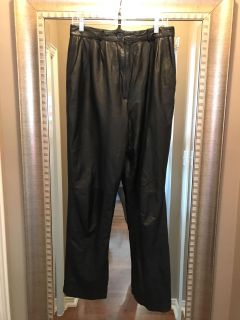Toffees Vintage leather pants, size 14