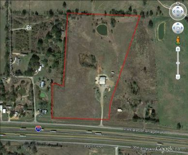 Land and Shop for sale
