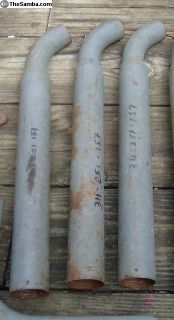 NOS Damper Pipes
