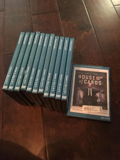House of cards dvds