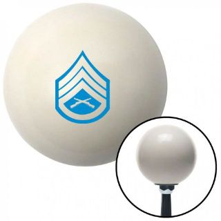 Find Blue 05 Staff Sergeant Ivory Shift Knob with 16mm x 1.5 Insertmetric pool grip motorcycle in Portland, Oregon, United States, for US $29.97