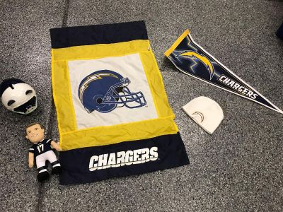 Chargers lot