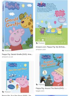 ISO Peppa Pig DVDs