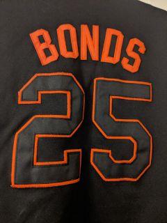 Sf Giants bonds jersey by majestic