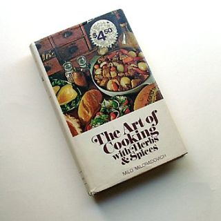 HERBS and SPICES 1950 HC Cookbook Miloradovich