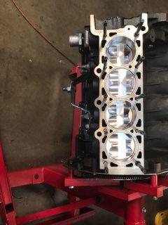 ford 4.6 dohc cobra mustang BB Stroker 5.3 liter racing shor