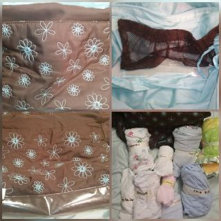 Carter's diaper bag with accessories