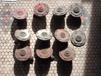10 Original Hella/VW Re-buildable 6 &12v Horns
