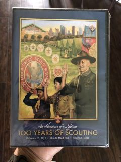 DVD 100 YEARS IF SCOUTING 02/18/10