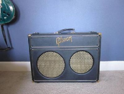 $1,050 Gibson GA-30RV Super Goldtone