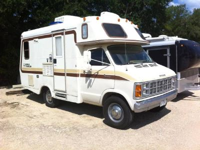 1981 Dodge Class C Motor Home RV  REDUCED PRICE