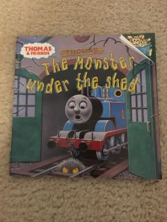 Thomas & Friends-The Monster under the shed book