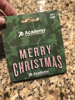 $75 Gift Card for Academy for 13% off