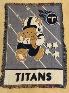 Tennessee Titans baby quilt/wall hanging