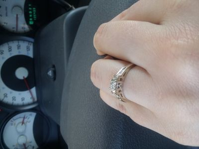 Engagement ring/need gone ASAP