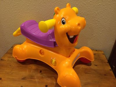 Playskool Ride and Stride Hippo Toy