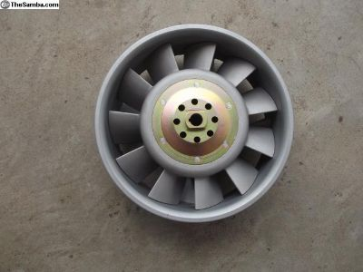 Porsche 911 250 mm Cast Aluminum Fan and Fan Ring