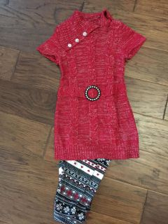 Girls 4/5 xsmall sweater outfit