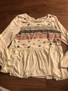 Women s top, large