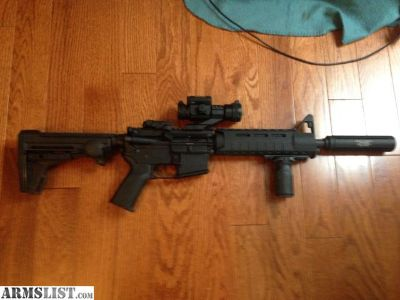 For Sale: MO AR15 5.56/223 $1000 upgrades