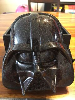 Loungefly Glitter Darth Vader Coin Purse SDCC 2015 Exclusive. Star Wars Purse.