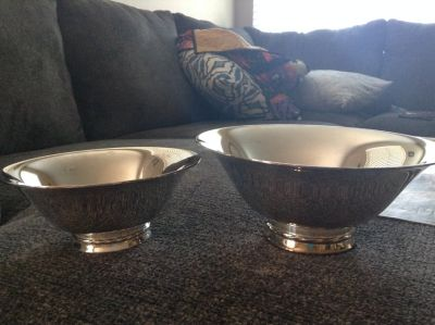 Towle Silverplate Bowls