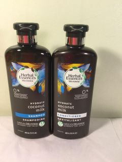 Herbal essence bio renew coconut water hydrate shampoo and conditioner set