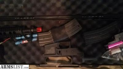 For Sale: Airsoft ar15 sbr project
