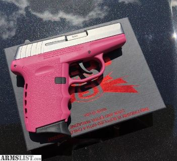 For Sale: NIB SCCY CPX2 two tone pink for the ladies (or dudes, no judging)