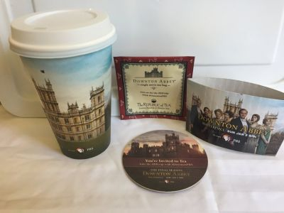 DOWNTON ABBEY UNUSED Travel Cups