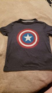 Old Navy size 5t Captain America shirt.