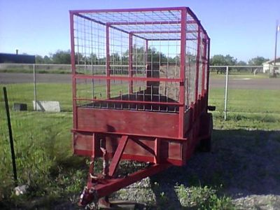 HORSE CATTLE ANIMAL TRAILER ALL IN ONE (LOS FRESNOS)