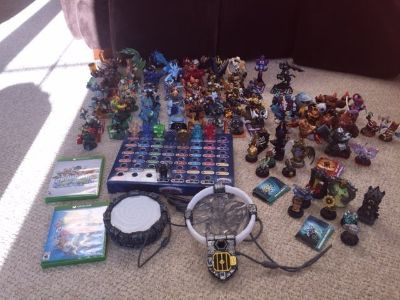 Skylanders Giants Swap Force and Trap Team LOT
