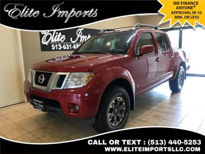 2015 Nissan Frontier PRO 4X 4x4 4dr Crew Cab 5 ft. (Red)