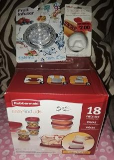 $8 Firm for New lot 18pc storage 2 other kitchen items