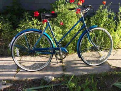 $295 Vintage Raleigh 1972 Blue Bicycle