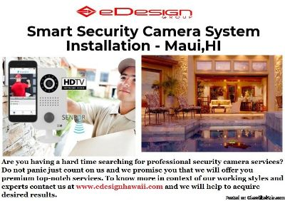 Smart Security Camera System Installation