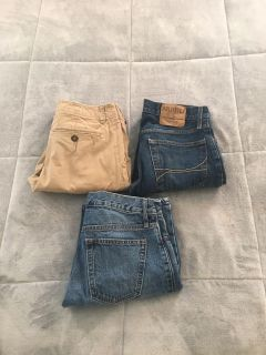 Hollister, AE and Old Navy Pants