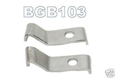 Purchase 69 CAMARO DELUXE FRONT BUMPER GUARD MOUNTING BRACKETS motorcycle in Bryant, Alabama, US, for US $13.95