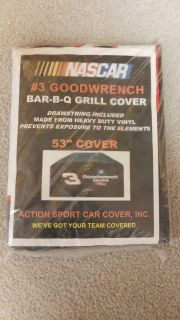 NEW NASCAR Grill Cover